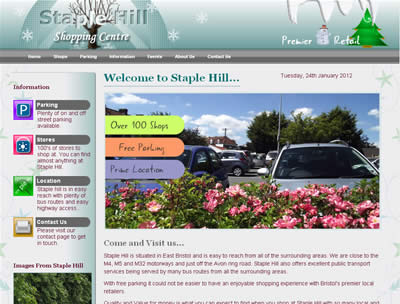 picture of staple hill website